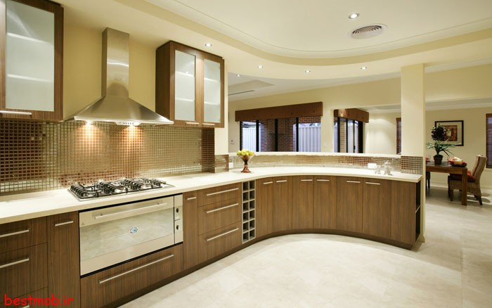 طراحی و ساخت ک نت آشپزخانه
